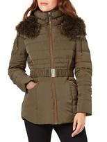 Phase Eight Paula Faux Fur-Trim Puffer Coat