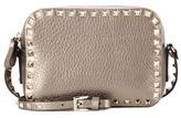Valentino Garavani Rockstud metallic leather crossbody bag