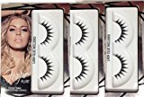 Wet n Wild Fergie Flirt Frince Signature Faux Eyelashes Silver Packx3 (Lash Glue Included)