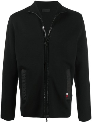 Moncler Zip-Up Wool Cadigan
