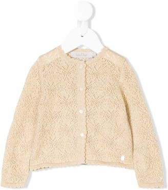 Christian Dior Perforated Cardigan
