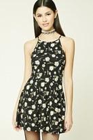 Forever 21 FOREVER 21+ Daisy Print Cami Dress