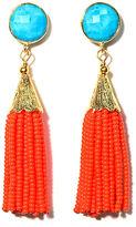 Sugar ChaChaCha Tassel Earrings, Orange