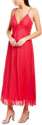 La Maison Talulah Raspberry Sorbet Midi Dress