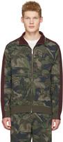 Valentino Green Tropical Camo Zip Jacket