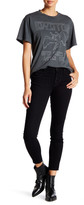 See Thru Soul Exposed Button Fly Skinny Ankle Jean