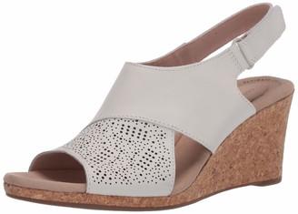 Clarks womens Lafley Joy Wedge Sandal