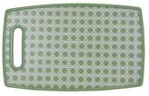 S/2 Green Lattice Cutting Boards, Large