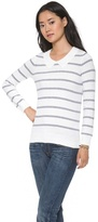 Madewell Sweet Tea Striped Pullover