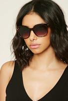 Forever 21 FOREVER 21+ Tortoiseshell Square Sunglasses