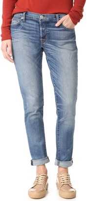 Hudson Women's Riley Relaxed Straight 5 Pocket Jeans