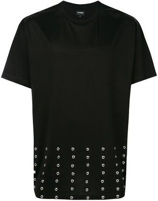 Les Hommes studded T-shirt