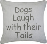 Park B Smith Park B. Smith Dogs Laugh Feather Decorative Pillow