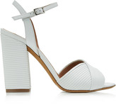 Tabitha Simmons Kali Textured-Leather Sandals