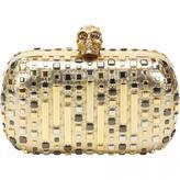 Alexander McQueen Skull leather handbag