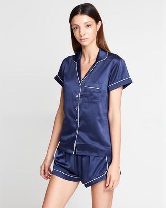 Homebodii Grace Short Piping Pyjama Set
