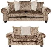 Laurence Llewellyn Bowen Scarpa 3-Seater + 2-Seater Fabric Sofa Set (Buy and SAVE!)
