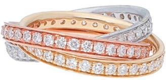 Diamond Select Cuts Nephora 14K Tri-Tone1.89 Ct. Tw. Diamond Ring
