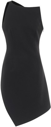 Coperni Motion one-shoulder minidress