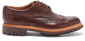 Grenson Archie Leather Brogues - Brown