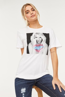 Ardene Britney Spears Graphic Tee