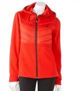 New Balance nordic quilted fleece hooded jacket - women's