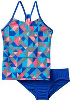 Nike Girls 7-14 Racerback Tankini Swimsuit Set