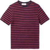Officine Generale Striped Slub Cotton-Jersey T-Shirt