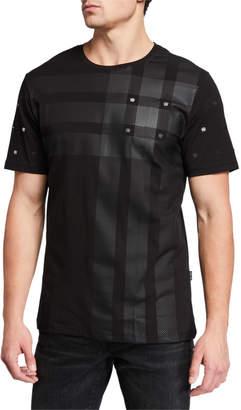 Maceoo Men's Crown Embellished T-Shirt