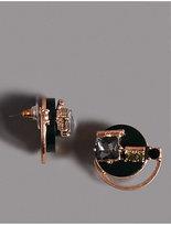 Autograph Diamanté Brooch Stud Earrings