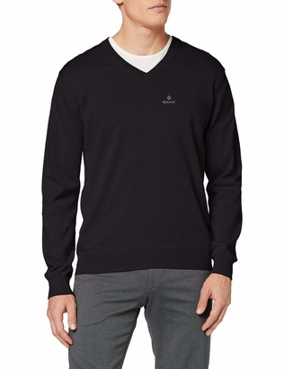 Gant Men's Classic Cotton V-Neck Jumper