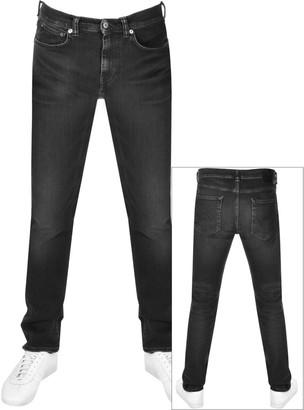Edwin ED80 Slim Tapered Jeans Black