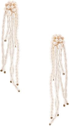 Jennifer Behr Deirdre Earrings in Pearl | FWRD