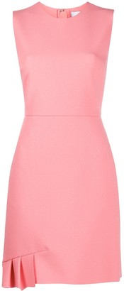 MSGM Pleat-Detail Fitted Dress