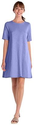 Fresh Produce Lorna Dress with Pockets (Peri) Women's Dress