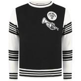 Dolce & Gabbana Dolce & GabbanaBaby Boys Black Striped Trombone Sweater