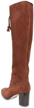 Alberta Ferretti 65mm Suede Over-the-knee Boots