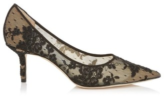 Jimmy Choo Love 65 Floral Lace Pumps