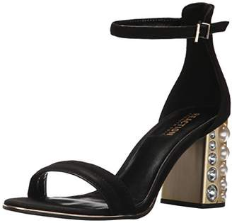 Kenneth Cole Reaction Women's Liandra Strappy Sandal with Faux Pearl Heel Heeled