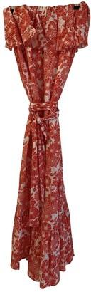 Lisa Marie Fernandez Red Linen Dresses