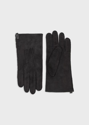 Emporio Armani Sheepskin Gloves