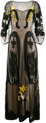 Temperley London Florette maxi dress