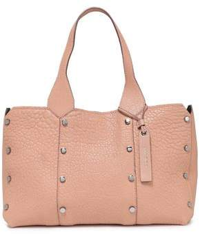 Jimmy Choo Studded Textured-leather Tote