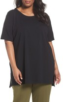 Eileen Fisher Plus Size Women's Stretch Organic Cotton Tunic