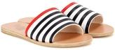 Ancient Greek Sandals Taygete Stripes leather sandals