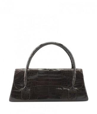 Nancy Gonzalez Brown Exotic leathers Handbags