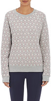 Tory Sport Women's Dot-Print Terry Sweatshirt