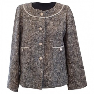 N. Non Signé / Unsigned Non Signe / Unsigned \N Grey Wool Jackets