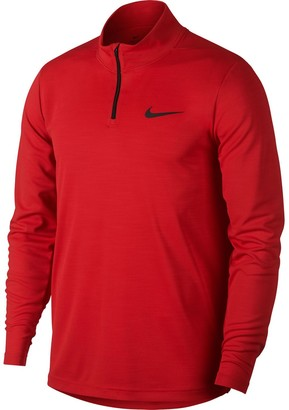 Nike Men's Breathe Quarter-Zip Pullover