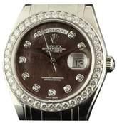 Rolex Day-Date 18946 Special Edition Masterpiece Platinum 40 Diamonds MOP Watch